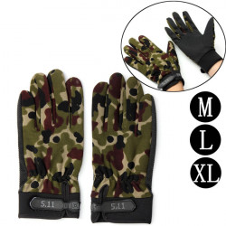 Men Camouflage Full Finger Gloves Motorcycle Winter Warm Riding Sports