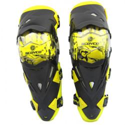 Motor Motorcykel Race Knee Elbow Beskyttelse Gear for Scoyco K12
