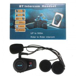 Motorrad Motorrad 500M Helm Intercom Headset BT Interphone