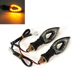 Motorcykel 12SMD LED Bulds Blinkers Lights Lampa EP98