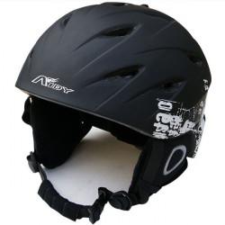 Motorcycle AIDY 618 Lightweight Comfortable PC + EPS Skiing Helmet