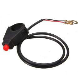 Motorcycle ATV 7/8 Handlebar Universal Horn Button Kill Switch