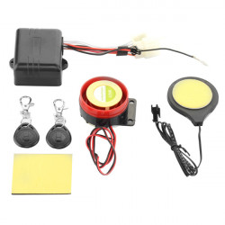 Motorcycle Bike IC Card Alarm Induction Invisible Lock Immobilizer