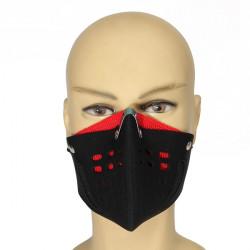 Motorcykel Bike Racing Ski Half Anti Dust Ansiktsmask Ansiktsskydd Munskydd