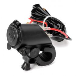 Motorcykel Cigarettænder Styr Phone Power Adapter Oplader