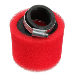 Motorcycle Double Foam Air Filter Red Color Performance Motorcycle