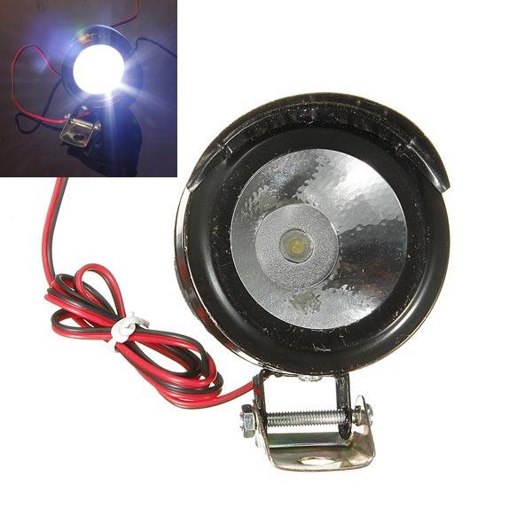 Motorcycle E-Bike Car LED Spot Light Headlight 12V-80V 3W Universal Motorcycle