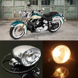 Motorcycle Front Headlight Lamp For Harley Honda Yamaha Suzuki Kawasaki