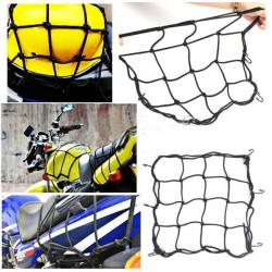 Motorcykel Bränsletank Hjälm Bagage Tuck Net