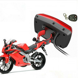 Motorcykel GPS Tracker Real Time Monitor Tyverisikring Tracking System