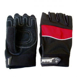 Motorcycle Half Finger Gloves Cycling Skating Outdoors Gloves