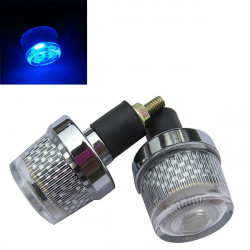 Motorcycle Handbar Plug Light Strobe Light for Yamaha Suzuki