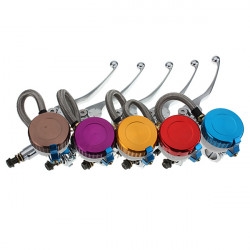 Motorcycle Handlebars Hydraulic Front Right Brake Master Cylinder