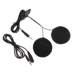 Motorcycle Helmet Stereo Speakers MP3 Headset Motorbike Headphone