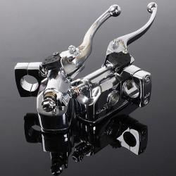 Motorcykel Hydraulisk Headlebar Kontrol Cylinder Master Clutch Lever