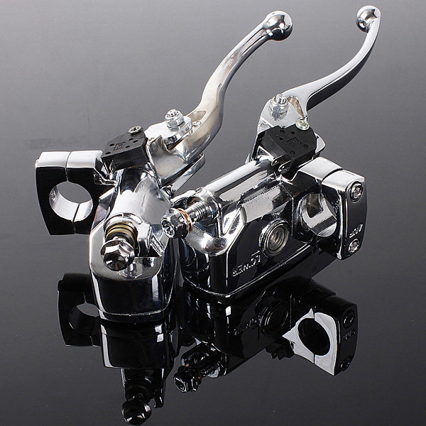 Motorcykel Hydraulisk Headlebar Styrcylinder Huvudkoppling Handtag Motorcykel
