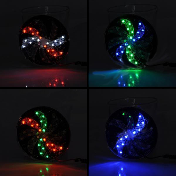 Motorcycle LED Light Colorful Windmill Style Lamp Decoration Lights Motorcycle