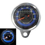 Motorrad LED Entfernungsmesser und Tachometer Meterspur 0 140Km / h Motorrad