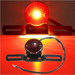Motorcykel LED Rund Bakljus för Harley Positionsljus Lampa 12V