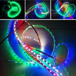 Motorcycle LED Strip Decoration Sticker Flashing Light Lamp
