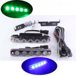 Motorcycle LED Turn Signal Light Tail Brake License Plate For Yamaha