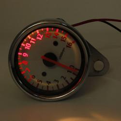 Motorcykel Mechanic Tachometer Måler 16000RPM Scooter Analog