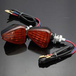 Motorcykel Positionslygte Indikatorer Lys Lampe Amber