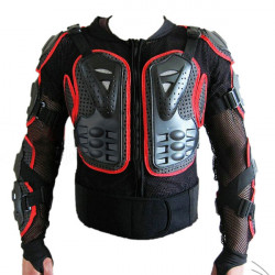 Motorcykel Offroad-Racing Skydds Armor Jacka Gear