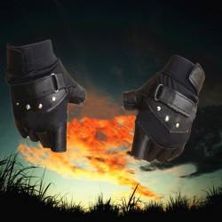 Motorcykel Sport Tactical Halkfria Halvfinger Handskar