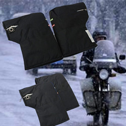 Motorcycle Scooter Quad Bike Handlebar Winter Thick Warm Gloves