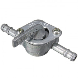 Motorcycle Scooter SUV Inline Petrol Fuel Tank Tap On-Off Switch
