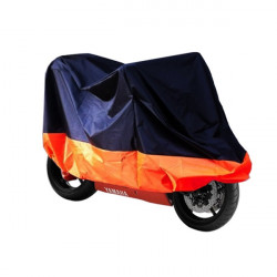 Motorcycle Scooter Waterproof Protective Rain Cover XL Orange