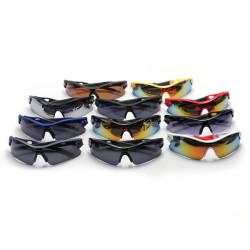 Motorcycle Sport Cycling Riding UV400 Lens Sun Glasses Eyewear Goggle
