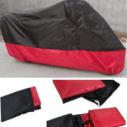 Motorcycle Street Bike Cover Waterproof Protective Rain Breathable XL
