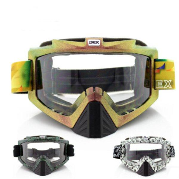 Motorcykel UV-skydd UV400 Sport Längd Goggles Motorcykel