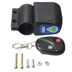 Motorcycle Wireless Remote Control Anti-theft Alarm Lock