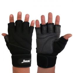 Motorcykel Fullt Finger Handskar Tyngdlyftning Utrustning Fitness Handskar