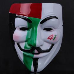 Målade Masker V för Vendetta Masquerade Party Horror Halloween-Mask