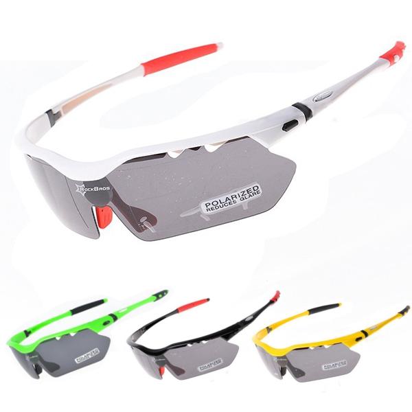 ROCKBROS UVA UVB UVC 5 Lens Polarise Sports Solglasögon Goggles Motorcykel