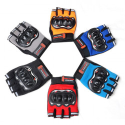 Racing Half Finger Gloves Cross-Country Motorcycle Bike Color Optional