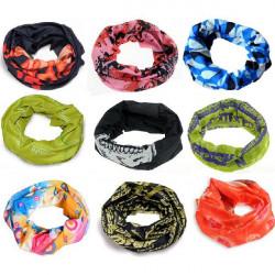 Problemfri Multi Function Tørklæde Vindtæt Masker Motorcykel Tørklæde