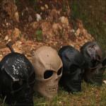 Schädel Gesicht Kostüm Maskerade Masken Halloween Weihnachtsfeiertags Masken Motorrad