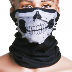 Skull Multi Purpose Hoved Wear Hat Tørklæde Ansigtsmaske Cap