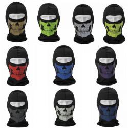 Skull Seals Tactical CS Reflekterande Ansiktsmask Ansiktsskydd Munskydd Huvudbonader