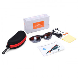 Smart Answer Call Hi-Fi Headset Sunglasses med Bluetooth Funktion
