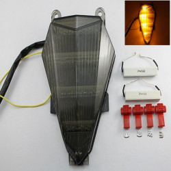 Smoke LED Tail Light Signals For Yamaha YZF R6 2006 2007 2008