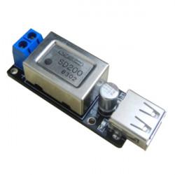 Step Down Converter Buck Module DC 6.5V 24V auf 5V USB Ladegerät