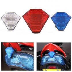 Style A 12v Motorcykel Led Bromsljus Blinkande Super Bright