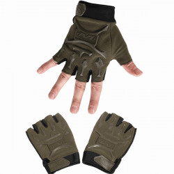 Tactical Outdoor Half Finger Gloves Antiskid Sport Cycling Motorcyle