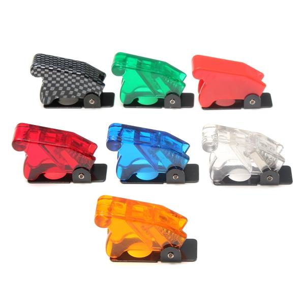 Toggle Switch Waterproof Stövlar Plast Säkerhet Flip Cover Cap Motorcykel
